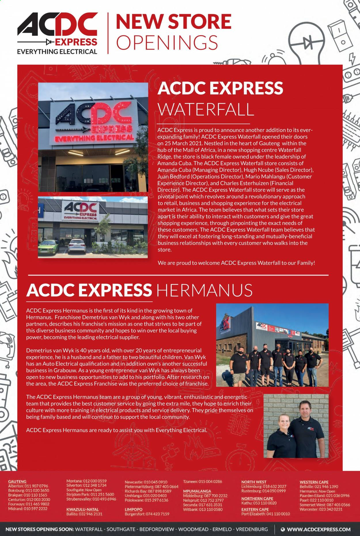 ACDC Express catalogue  - 04.01.2021 - 06.30.2021. Page 3.