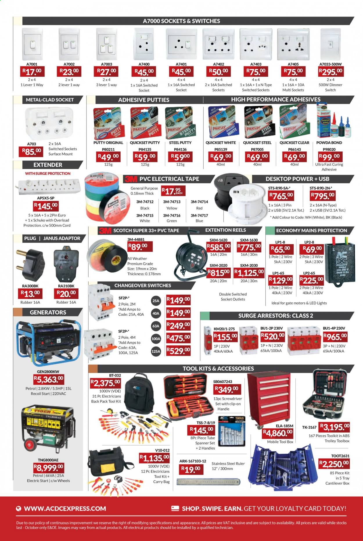 ACDC Express catalogue  - 04.01.2021 - 06.30.2021. Page 5.