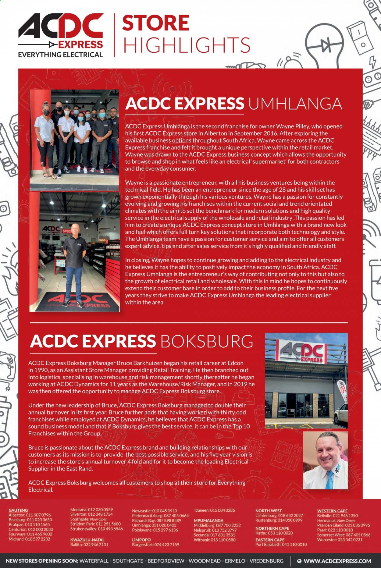 ACDC Express catalogue  - 04.01.2021 - 06.30.2021. Page 6.