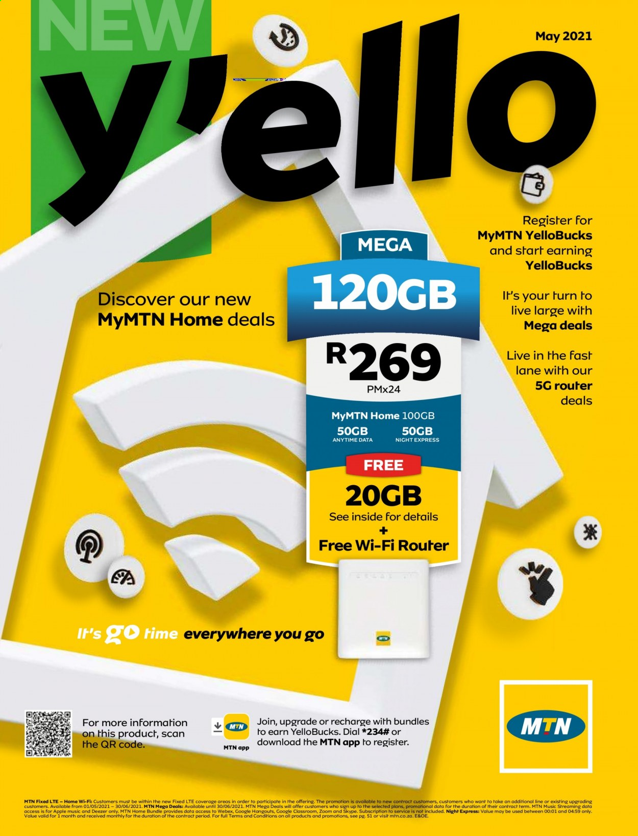 MTN catalogue  - 05.01.2021 - 05.31.2021. Page 1.