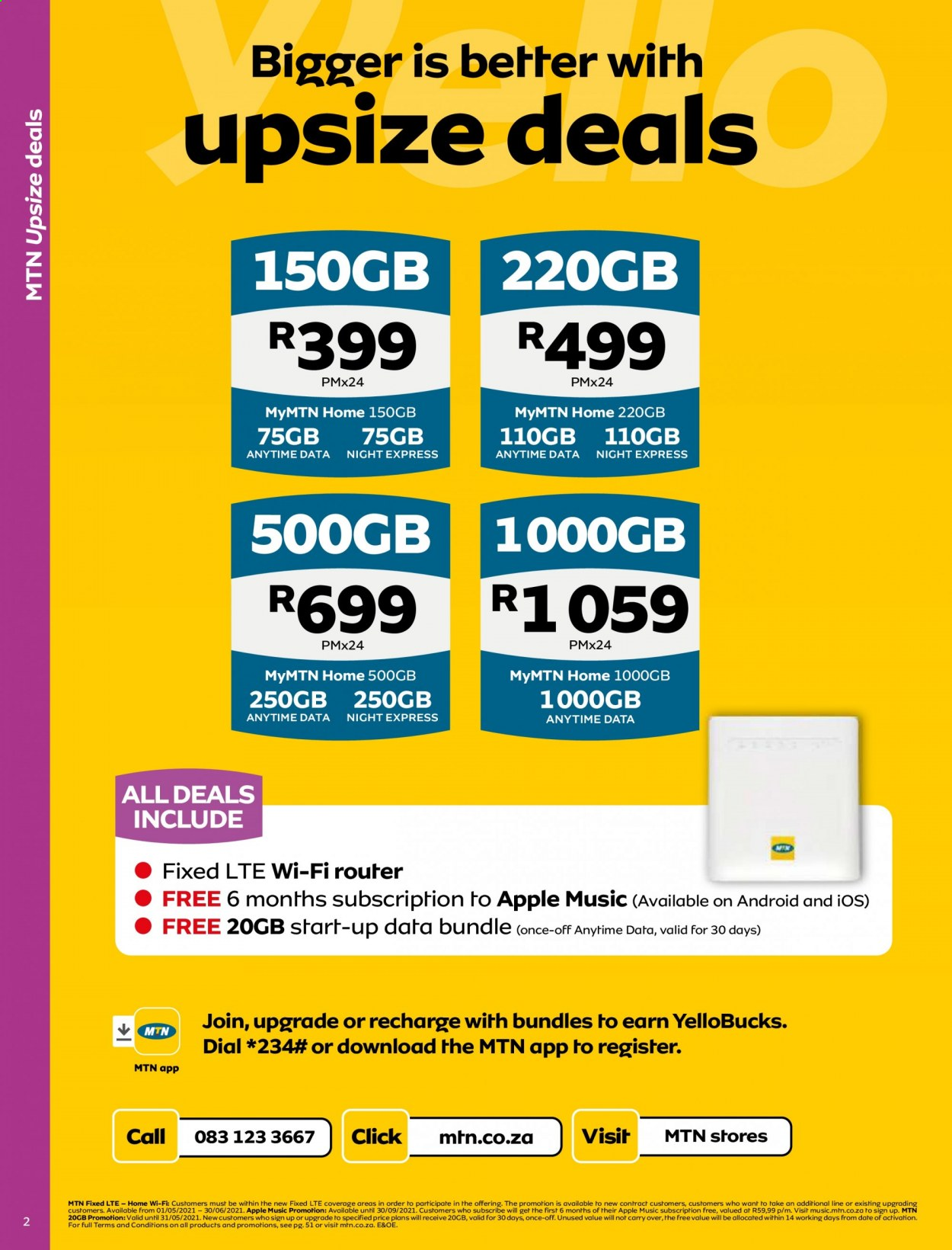 MTN catalogue  - 05.01.2021 - 05.31.2021. Page 2.