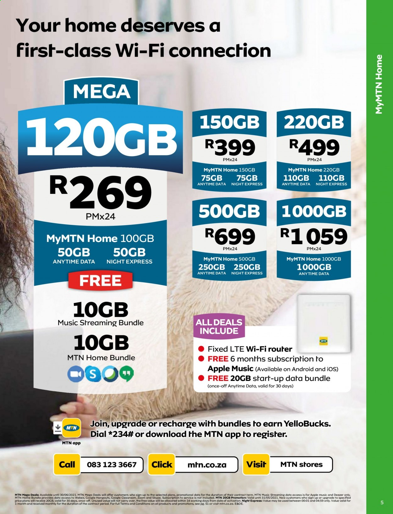 MTN catalogue  - 05.01.2021 - 05.31.2021. Page 5.