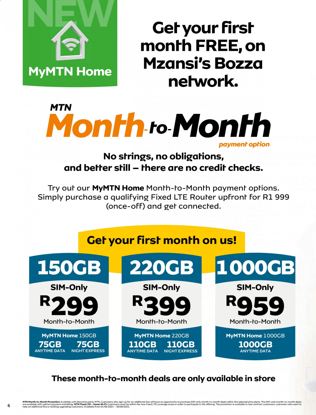 MTN catalogue  - 05.01.2021 - 05.31.2021. Page 6.