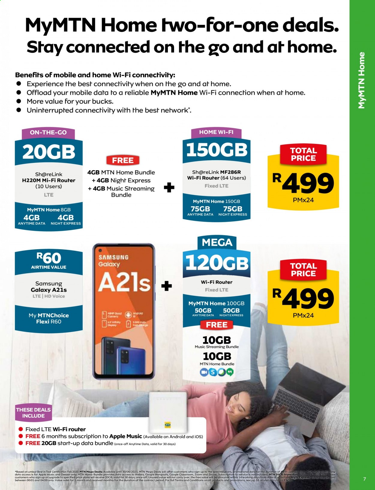 MTN catalogue  - 05.01.2021 - 05.31.2021. Page 7.