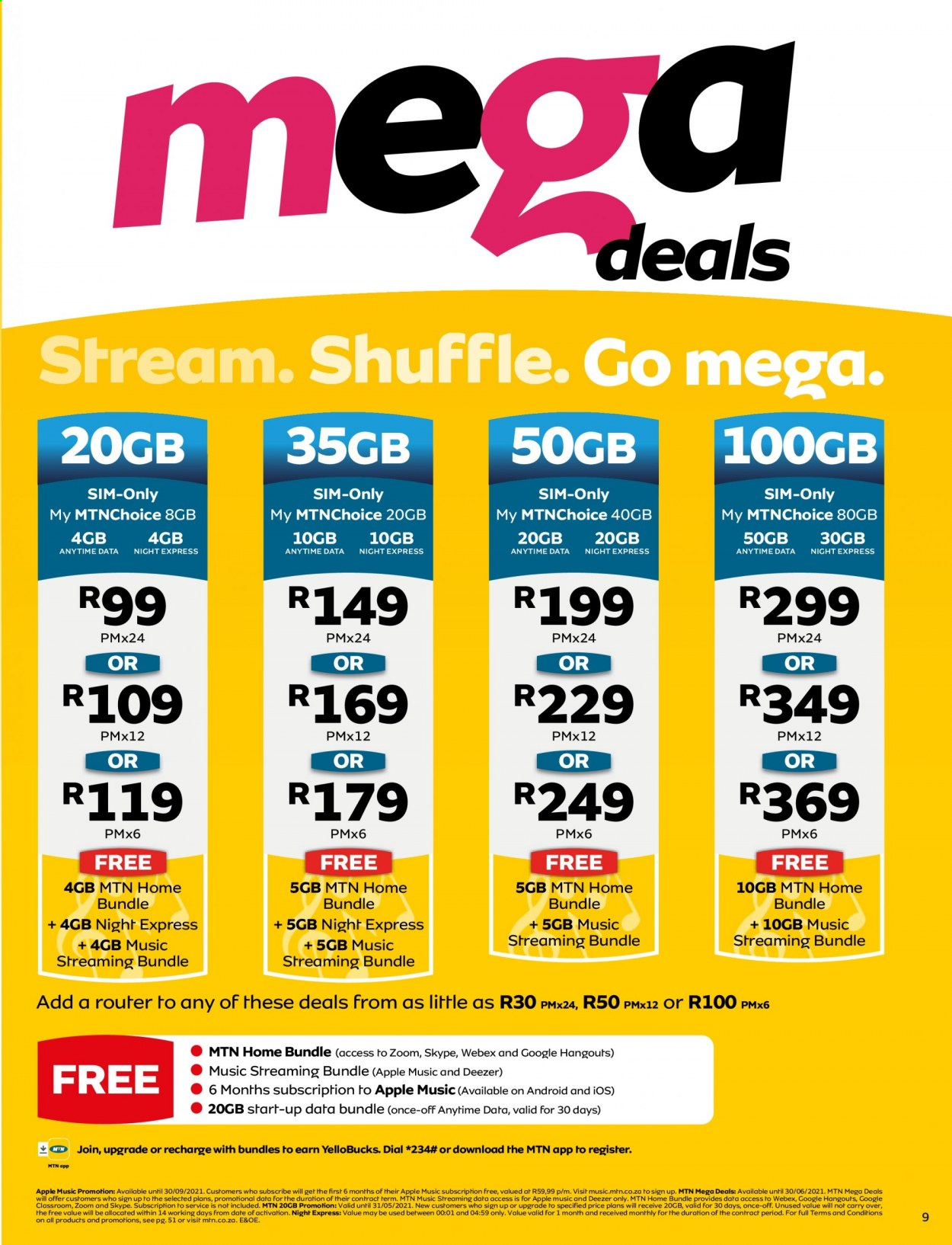 MTN catalogue  - 05.01.2021 - 05.31.2021. Page 9.