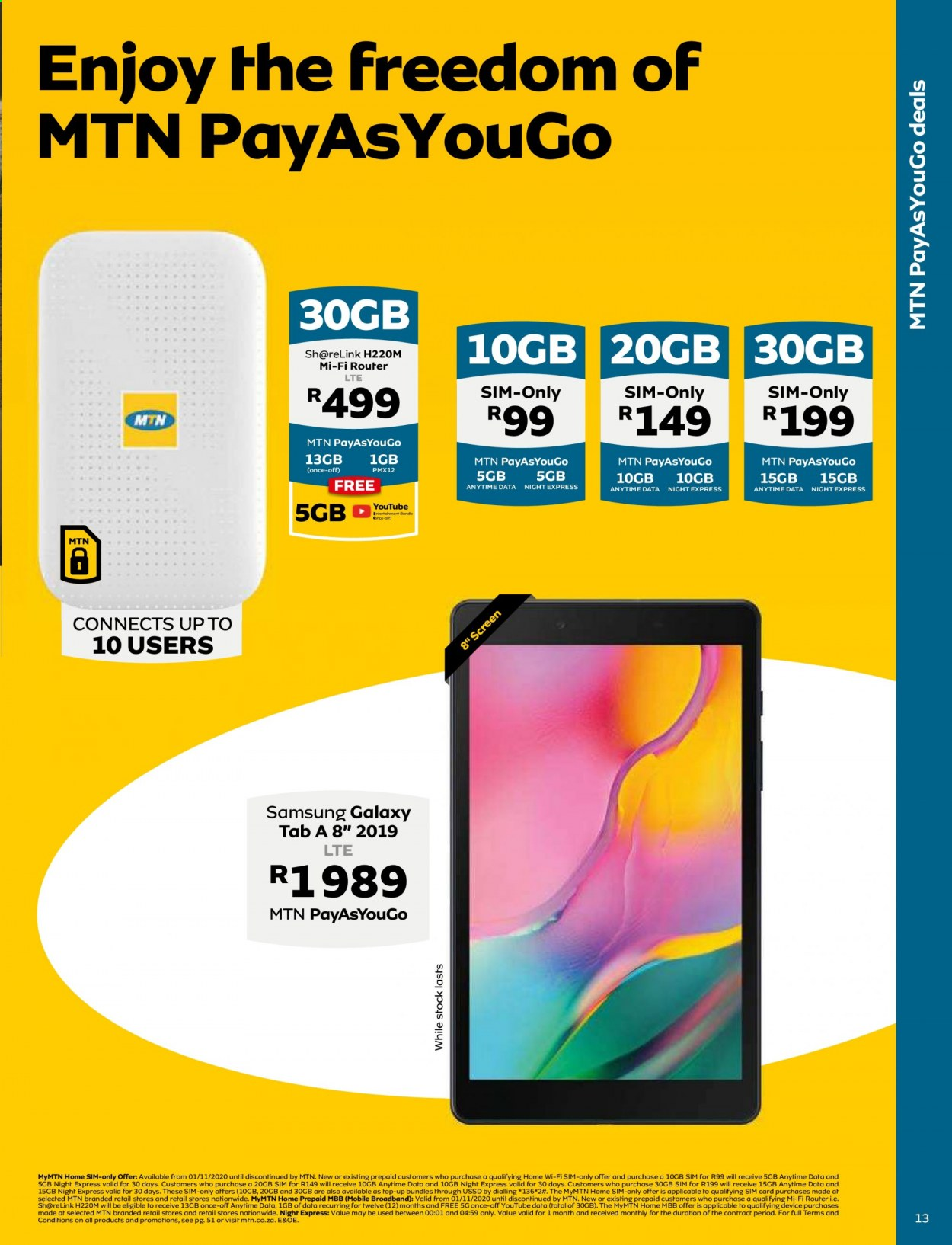 MTN catalogue  - 05.01.2021 - 05.31.2021. Page 13.
