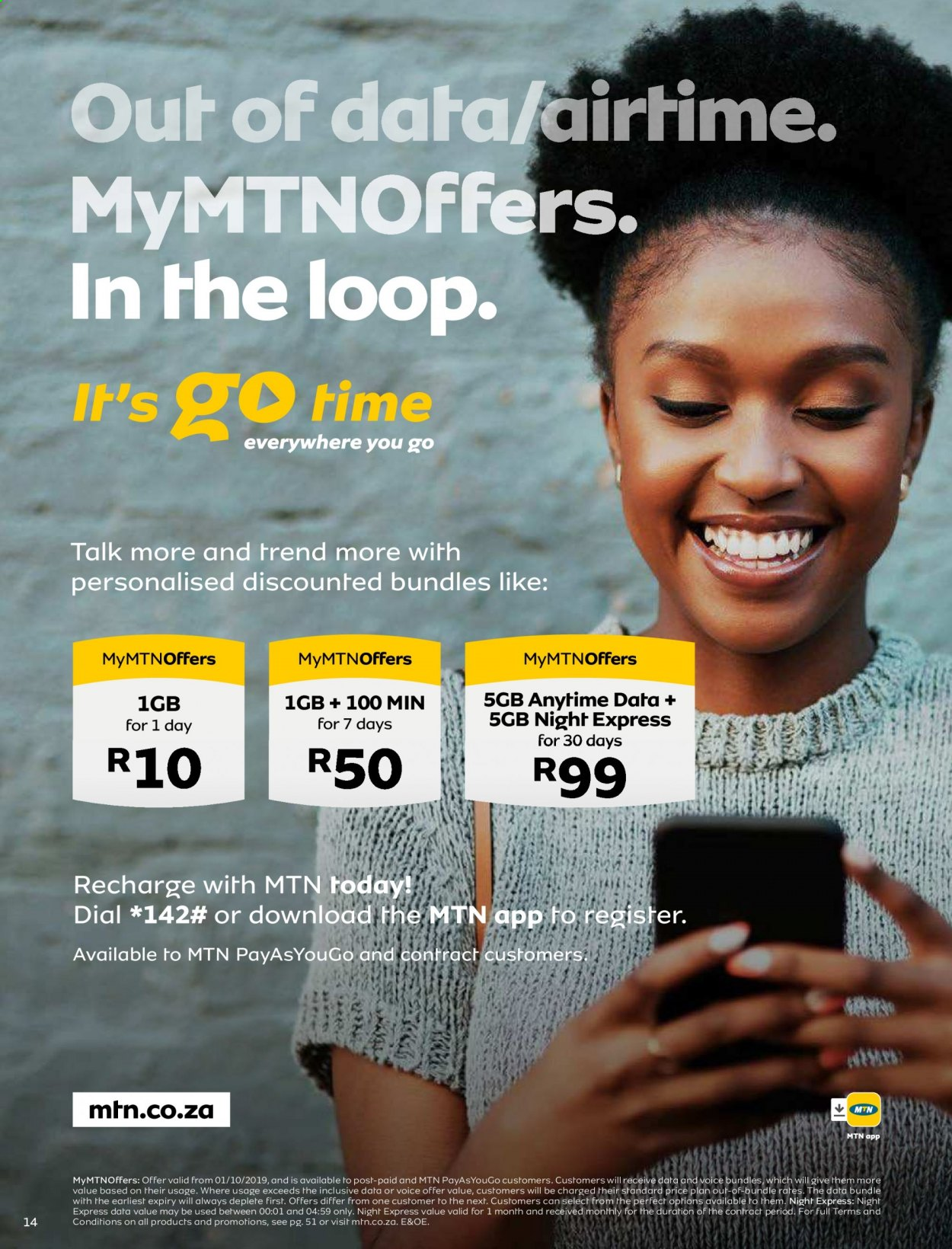 MTN catalogue  - 05.01.2021 - 05.31.2021. Page 14.