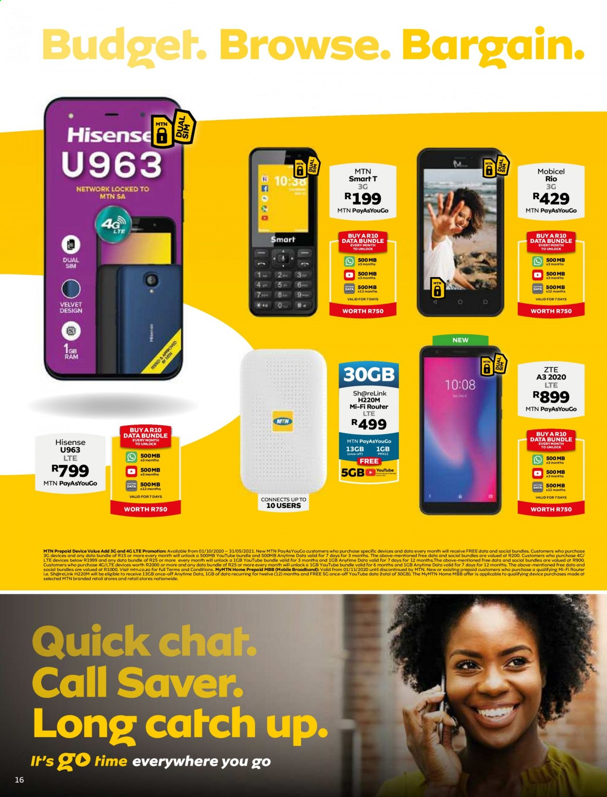 MTN catalogue  - 05.01.2021 - 05.31.2021. Page 16.