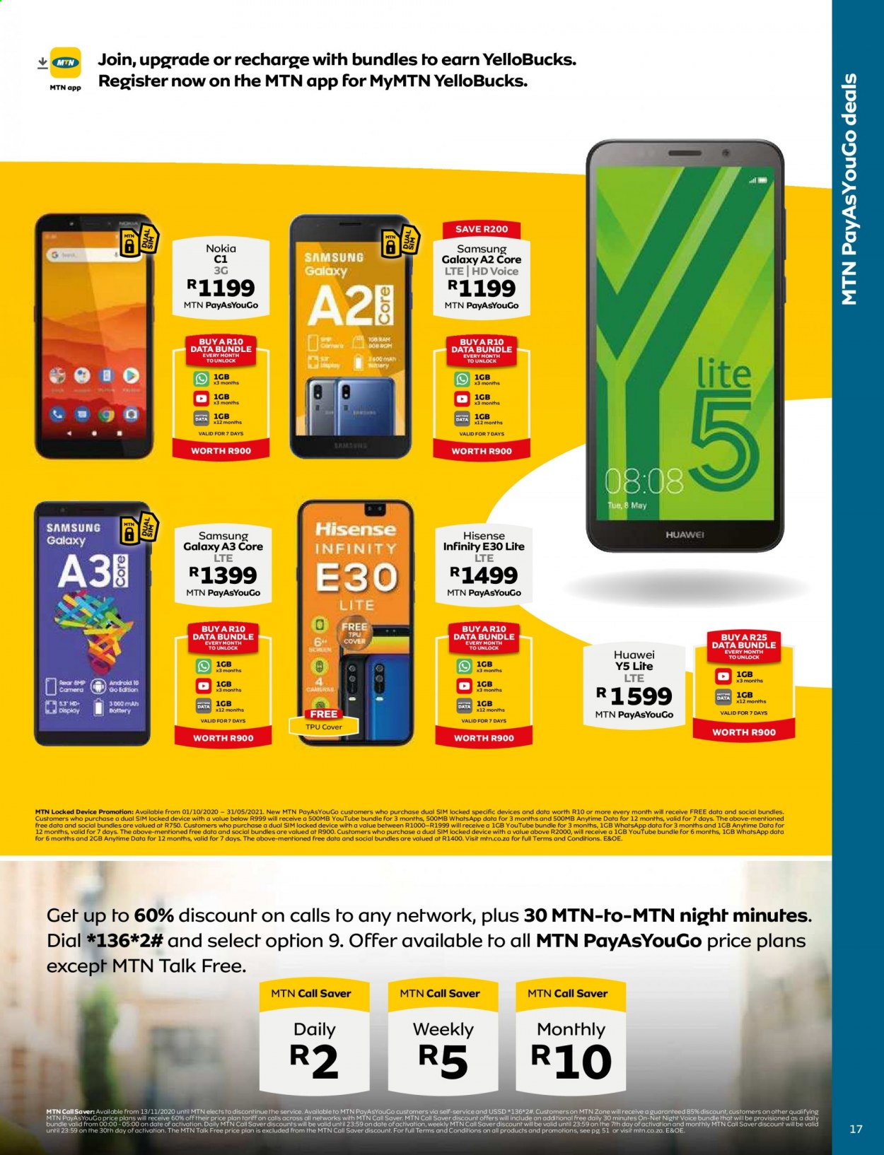 MTN catalogue  - 05.01.2021 - 05.31.2021. Page 17.