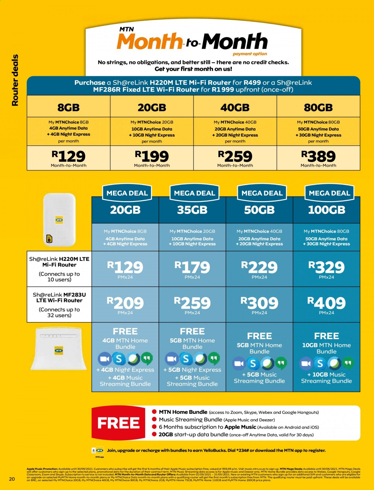 MTN catalogue  - 05.01.2021 - 05.31.2021. Page 20.