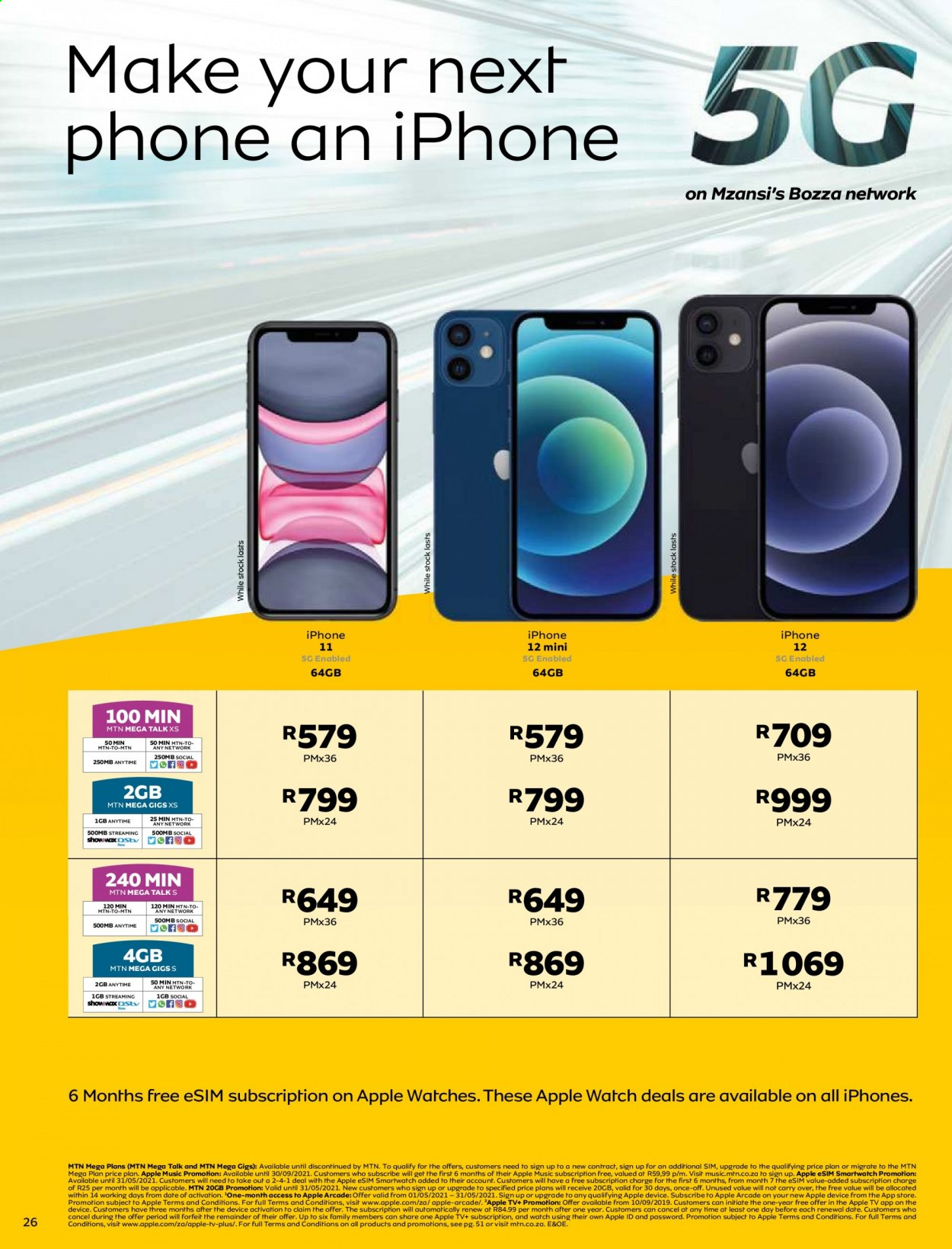 MTN catalogue  - 05.01.2021 - 05.31.2021. Page 26.