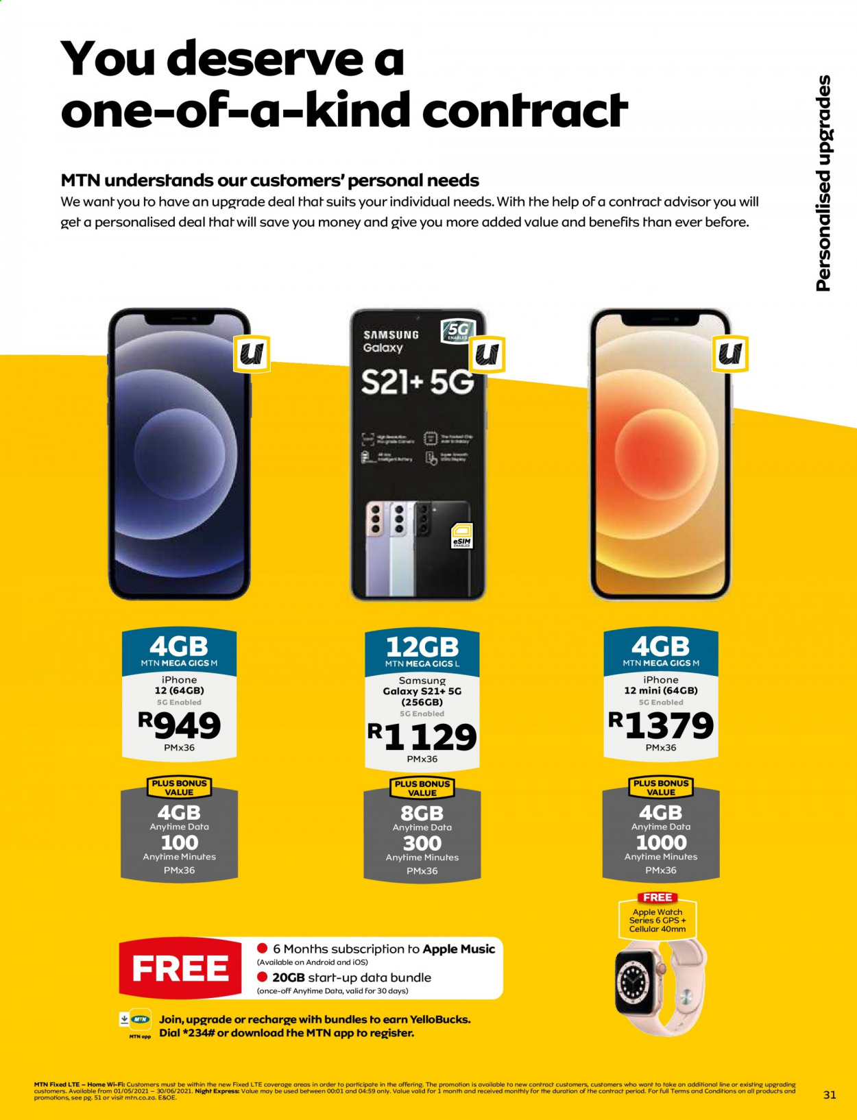 MTN catalogue  - 05.01.2021 - 05.31.2021. Page 31.