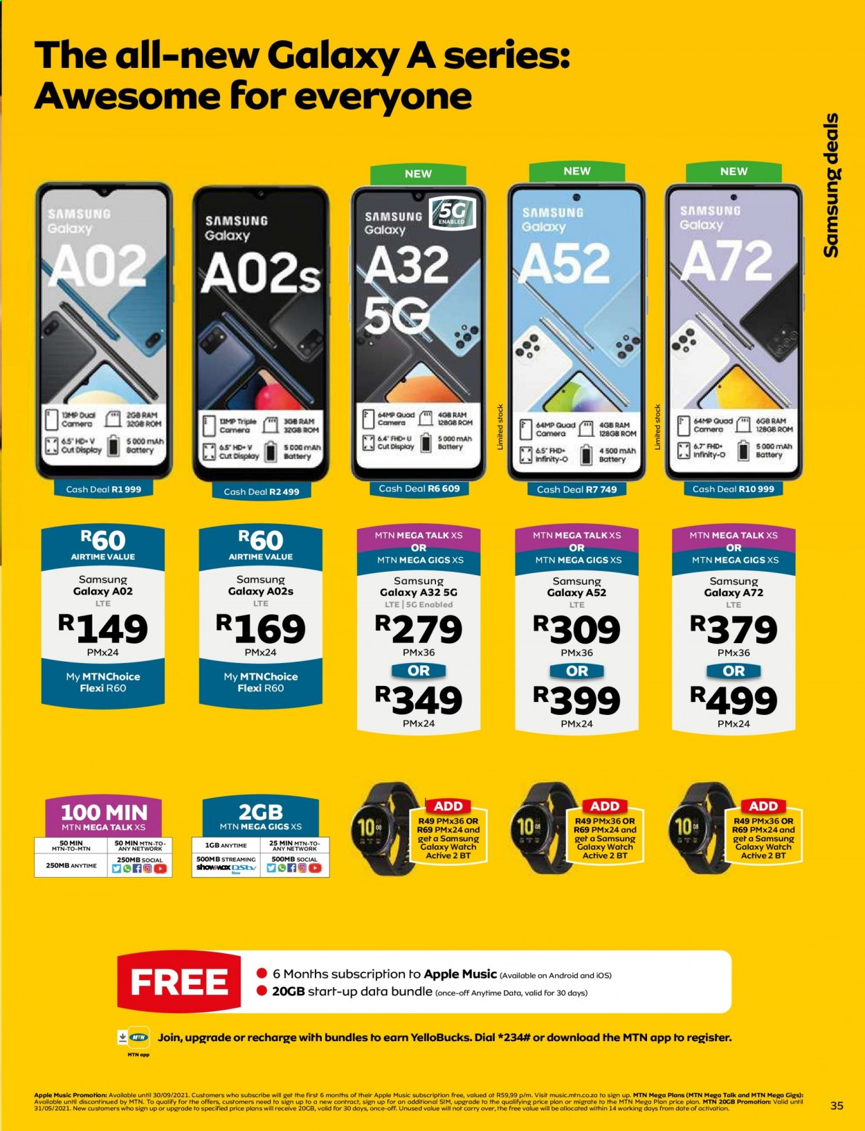 MTN catalogue  - 05.01.2021 - 05.31.2021. Page 35.