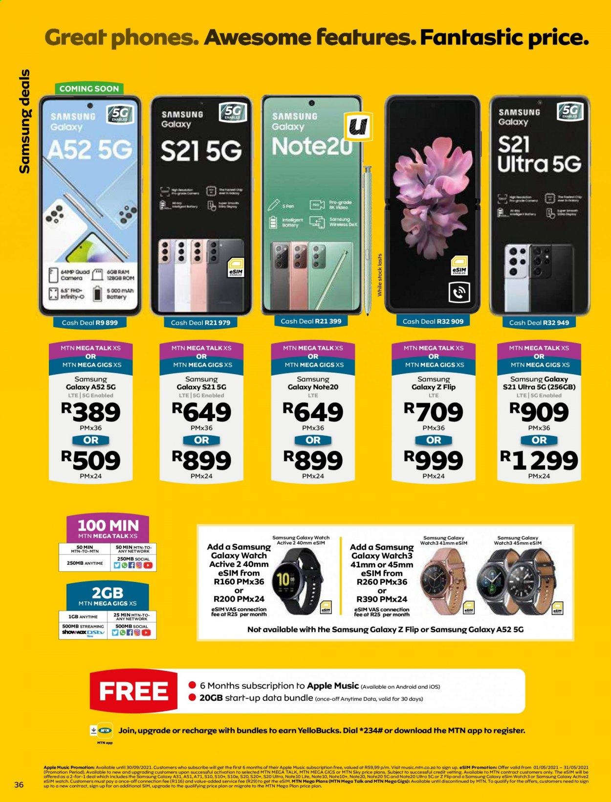 MTN catalogue  - 05.01.2021 - 05.31.2021. Page 36.