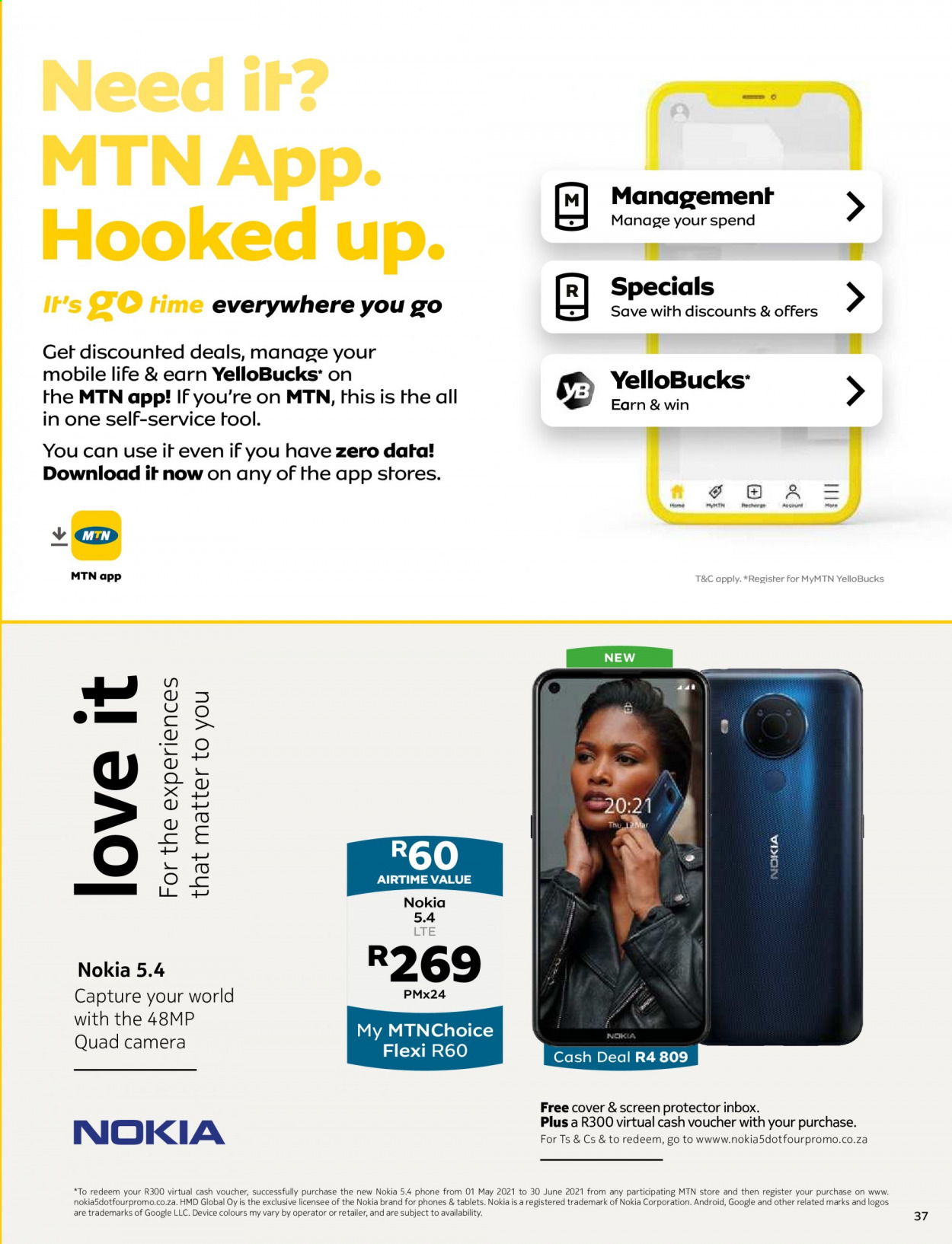 MTN catalogue  - 05.01.2021 - 05.31.2021. Page 37.