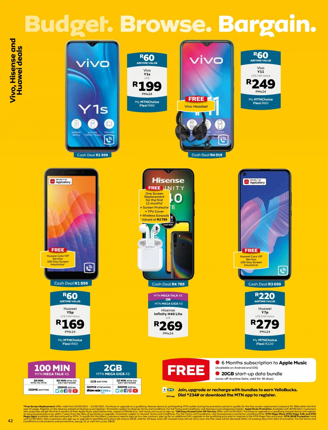 MTN catalogue  - 05.01.2021 - 05.31.2021. Page 42.