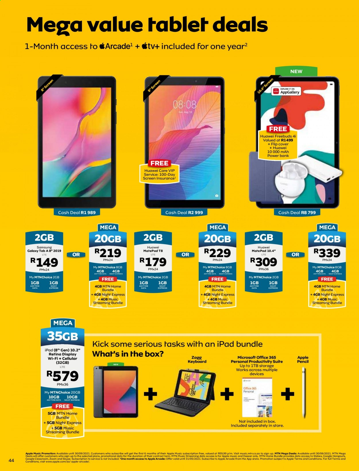 MTN catalogue  - 05.01.2021 - 05.31.2021. Page 44.