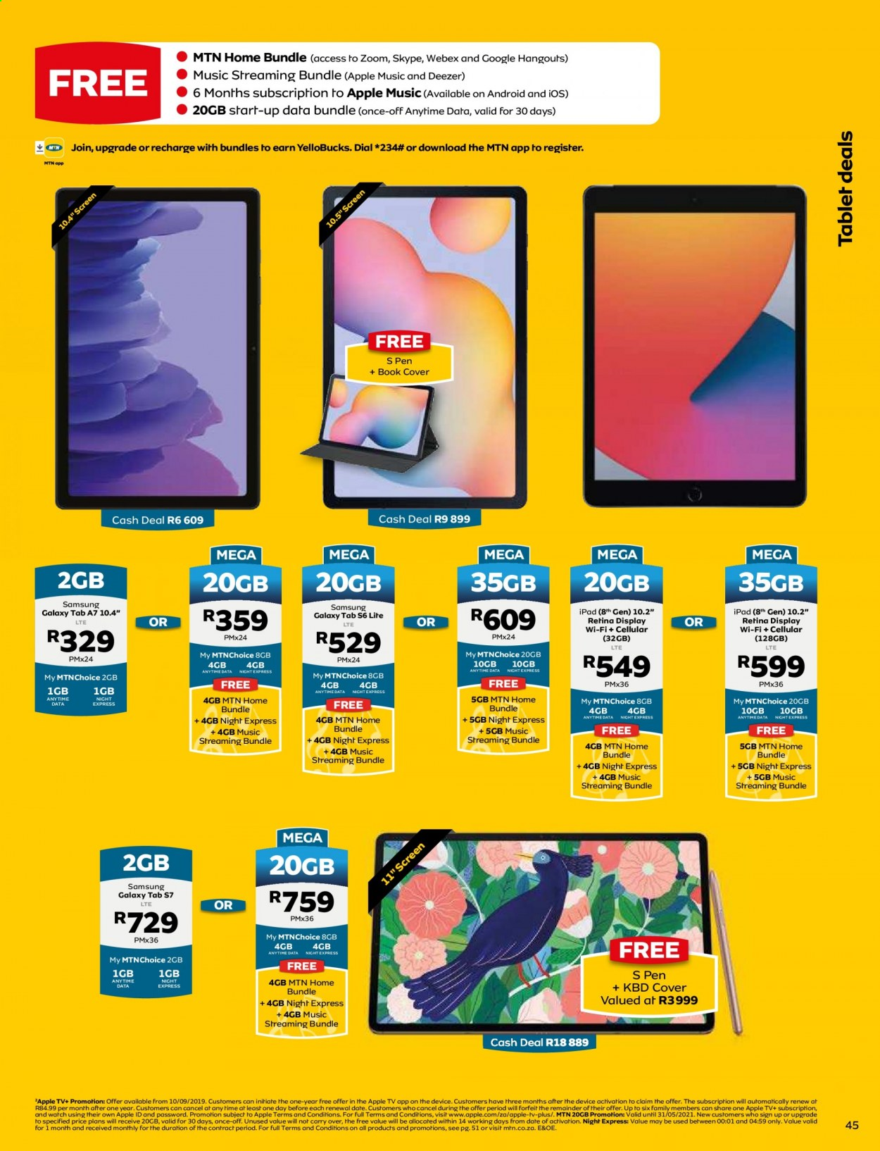 MTN catalogue  - 05.01.2021 - 05.31.2021. Page 45.