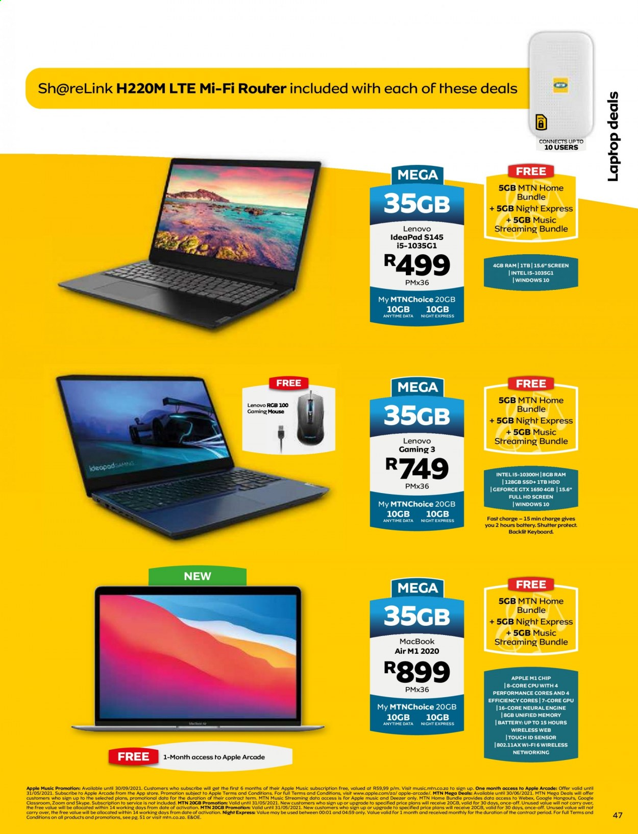 MTN catalogue  - 05.01.2021 - 05.31.2021. Page 47.