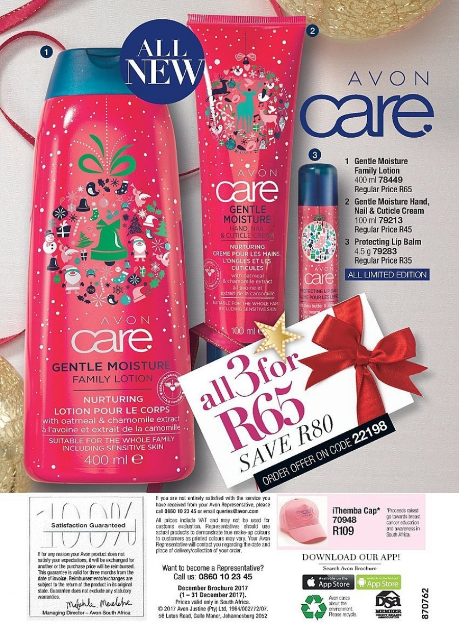 Avon catalogue  - 12.01.2017 - 12.31.2017. Page 192.