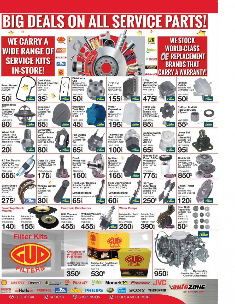 AutoZone special  - 12.05.2017 - 12.31.2017. Page 3.