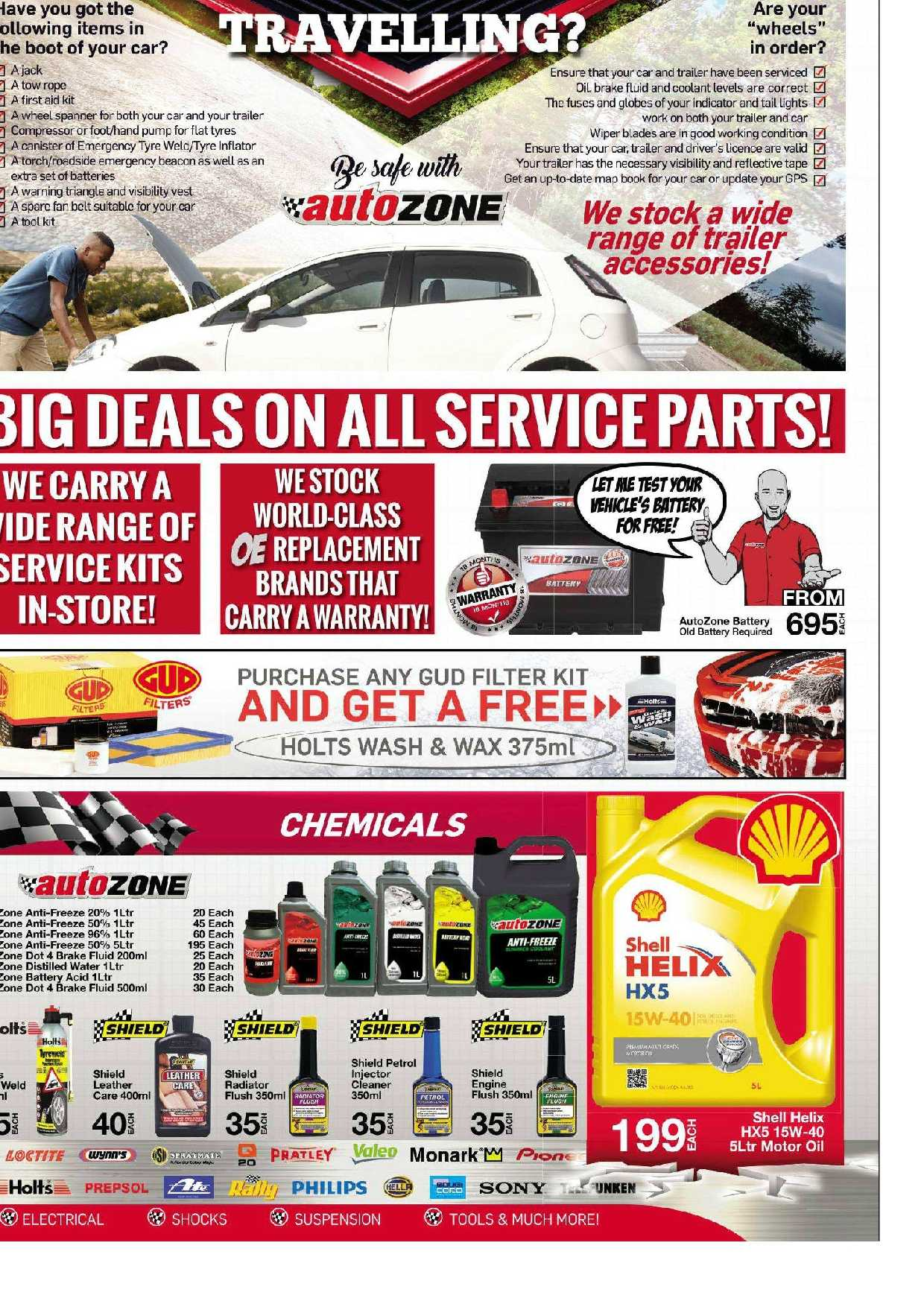 AutoZone special  - 03.20.2018 - 03.31.2018. Page 3.