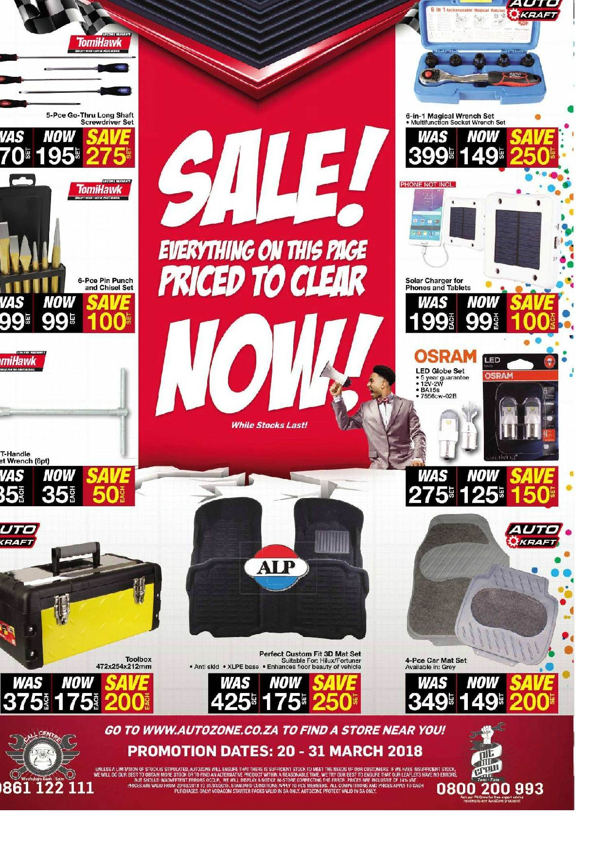AutoZone special  - 03.20.2018 - 03.31.2018. Page 4.