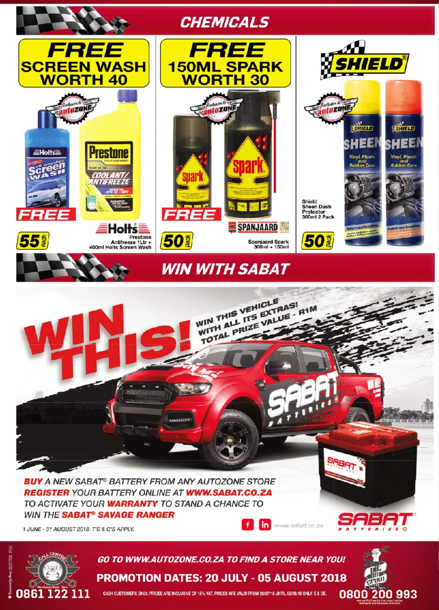 AutoZone special  - 07.20.2018 - 08.05.2018. Page 4.