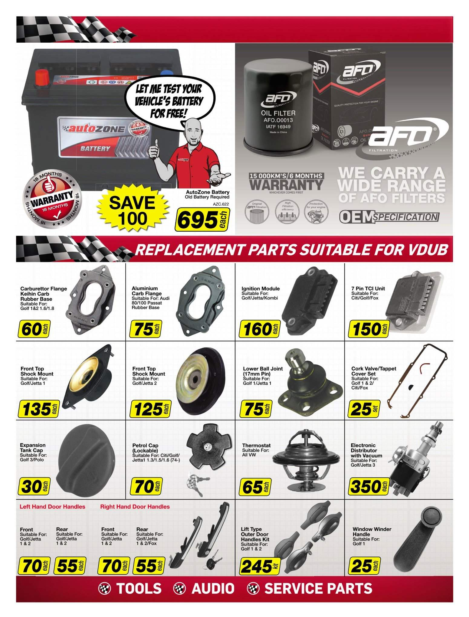 AutoZone special  - 08.21.2018 - 09.03.2018. Page 3.