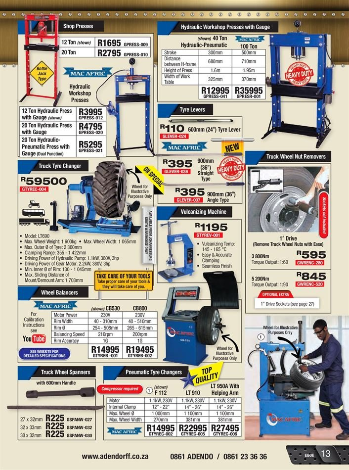 Adendorff Machinery Mart catalogue 08 01 2018 - 12 31 2018