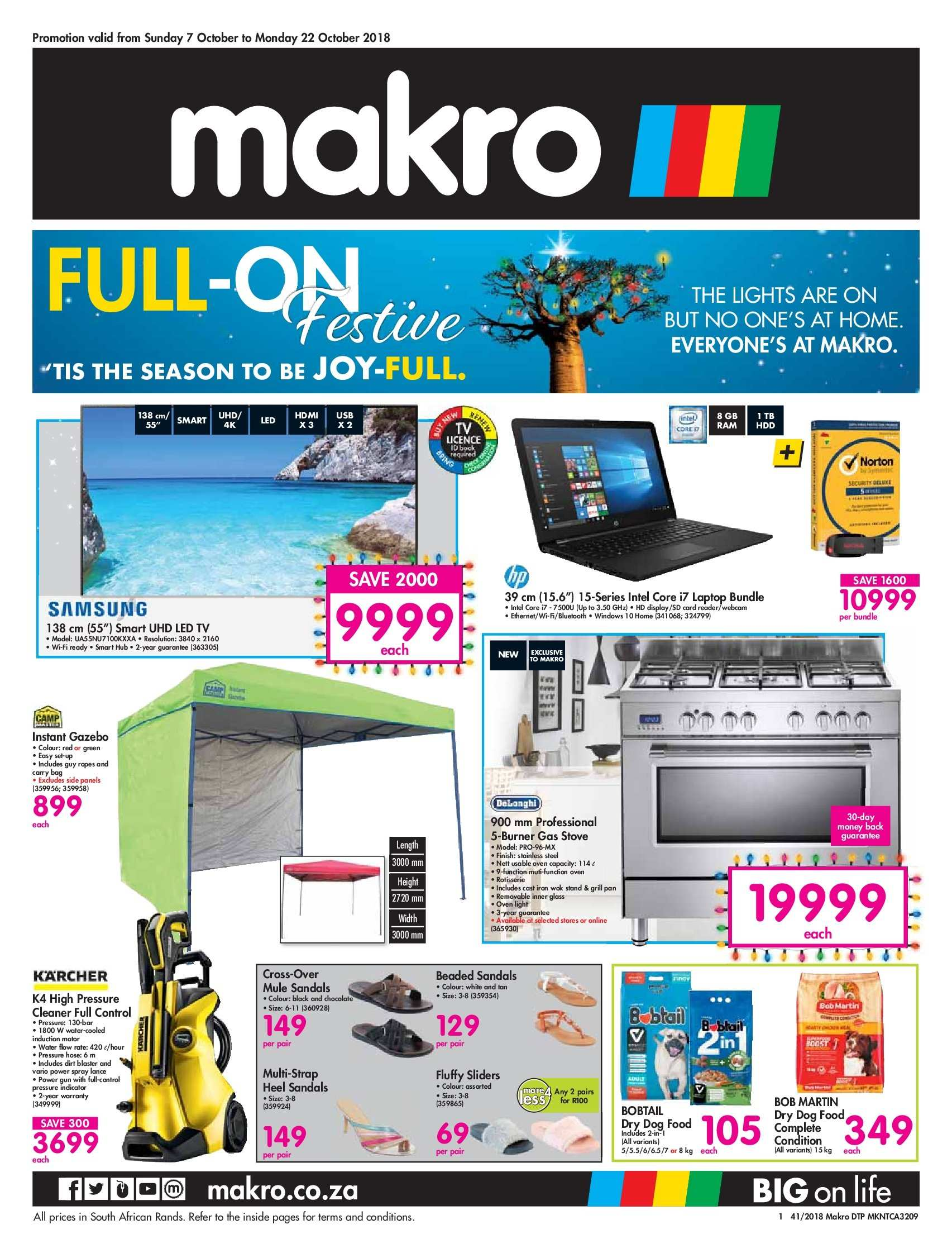 Makro special  - 10.07.2018 - 10.22.2018. Page 1.