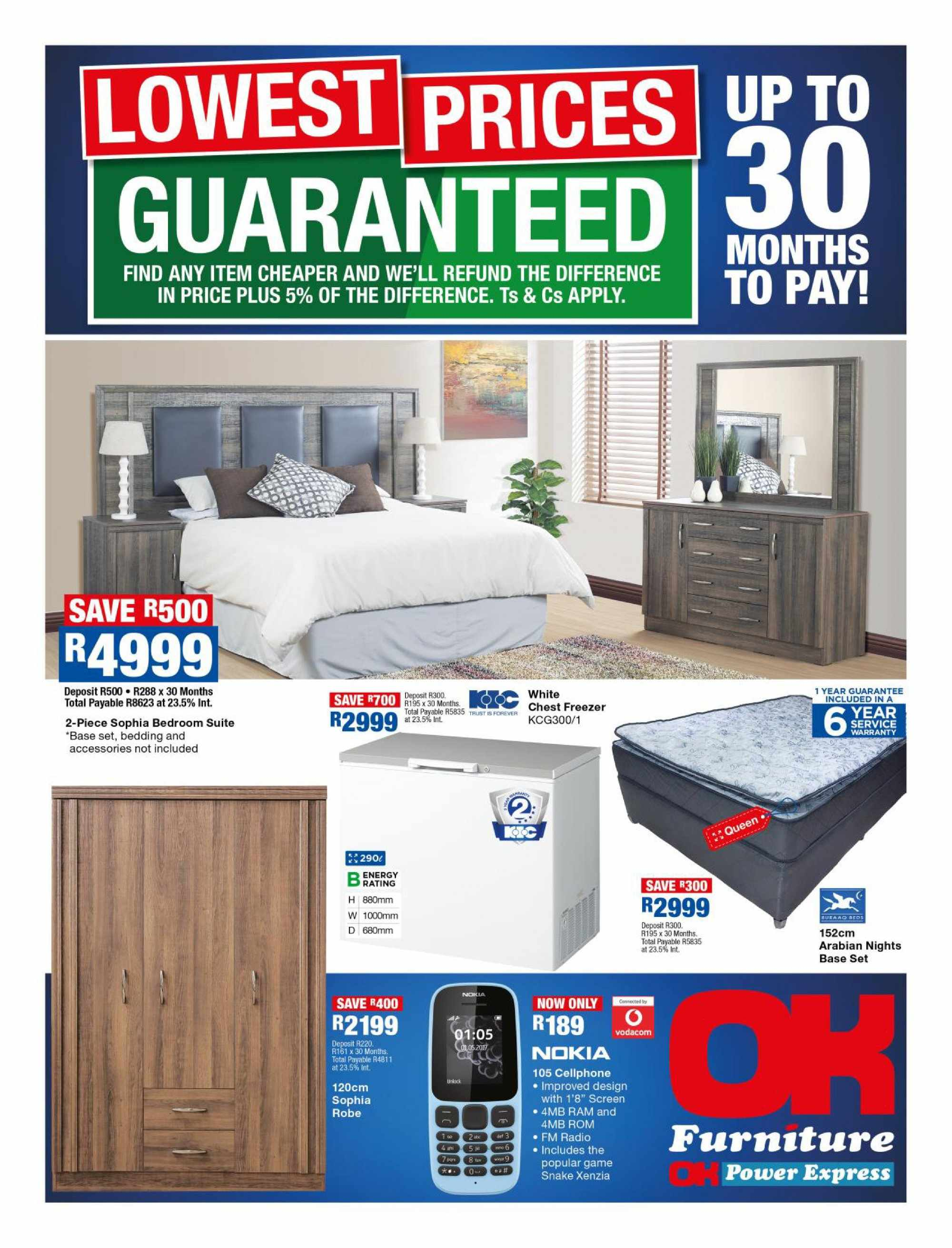 OK Furniture special  - 10.09.2018 - 10.21.2018. Page 1.