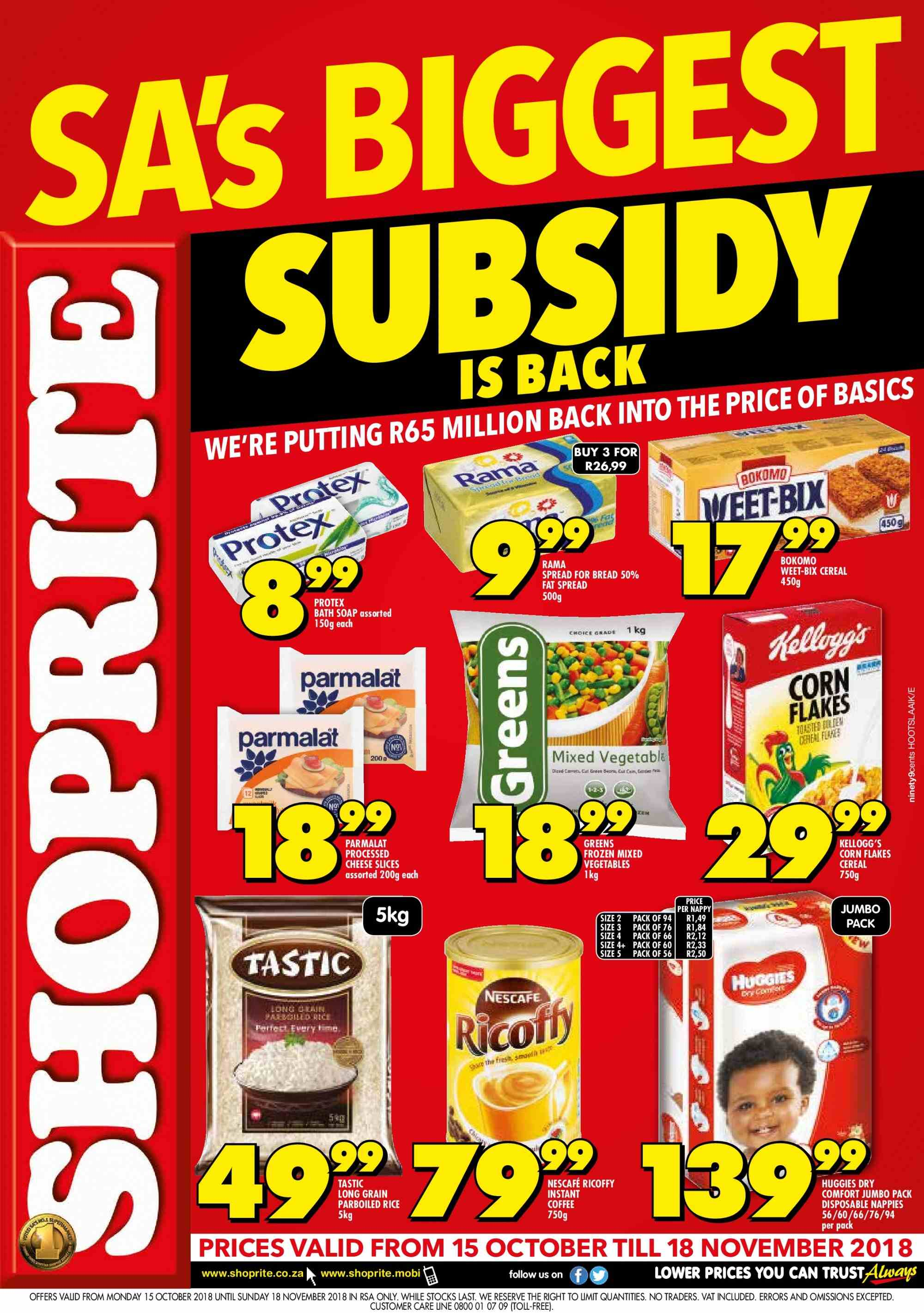 Current catalogue Shoprite