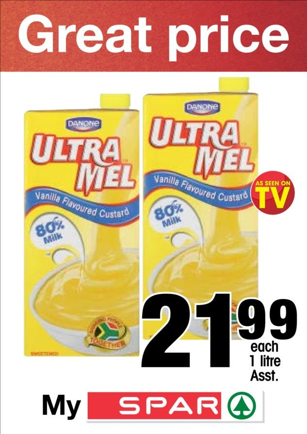 SPAR special - 10.26.2018 - 11.04.2018 - Sales products - milk. Page 1.
