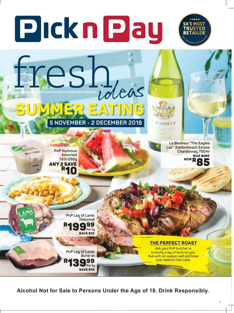 Pick n Pay special  - 11.05.2018 - 12.02.2018. Page 1.