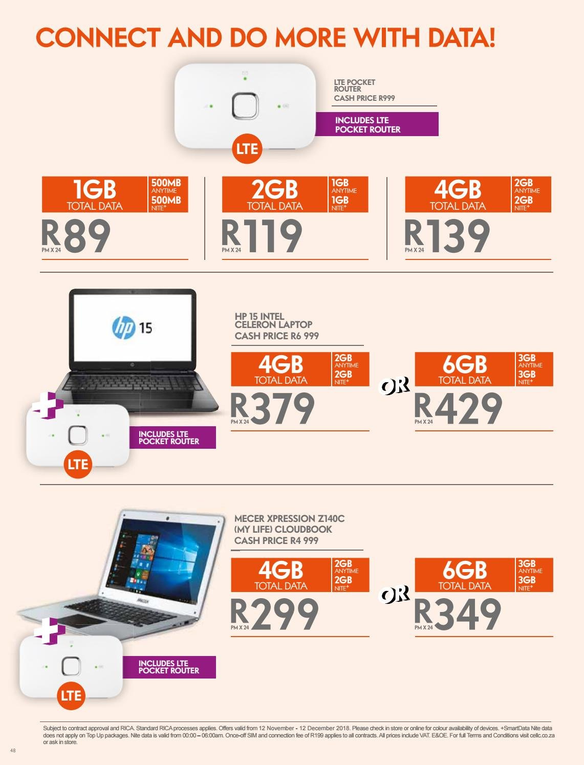 Cell C Catalogue 11 12 2018 12 12 2018 Page 46 My Catalogue