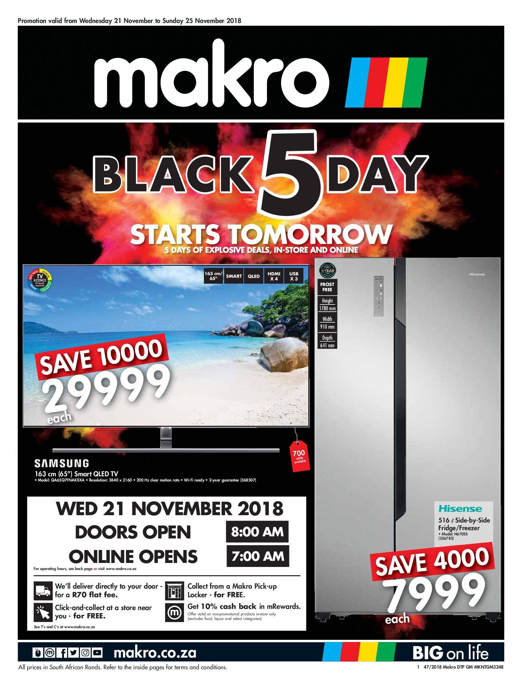 Makro special  - 11.21.2018 - 11.25.2018. Page 1.