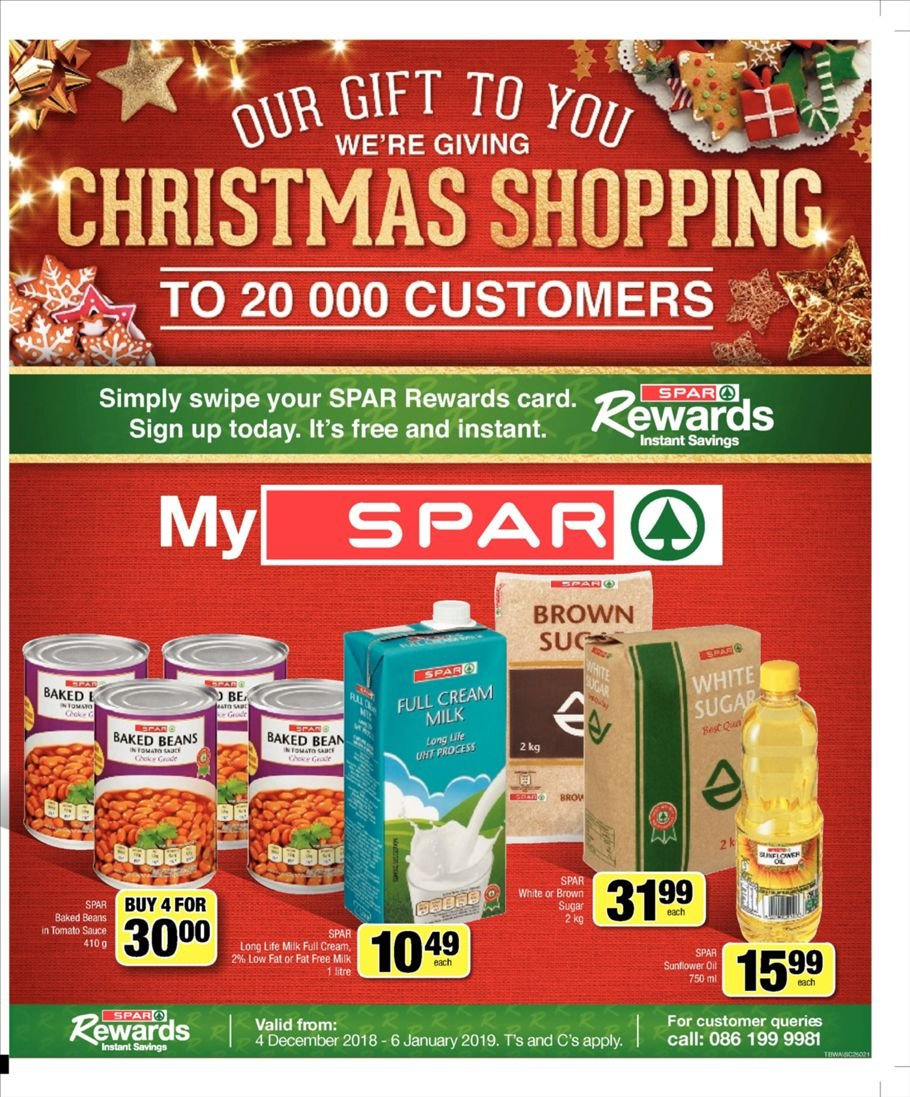 SPAR special - 12.03.2018 - 12.09.2018 - Sales products - beans, cream, milk, sunflower oil, tomato sauce. Page 1.