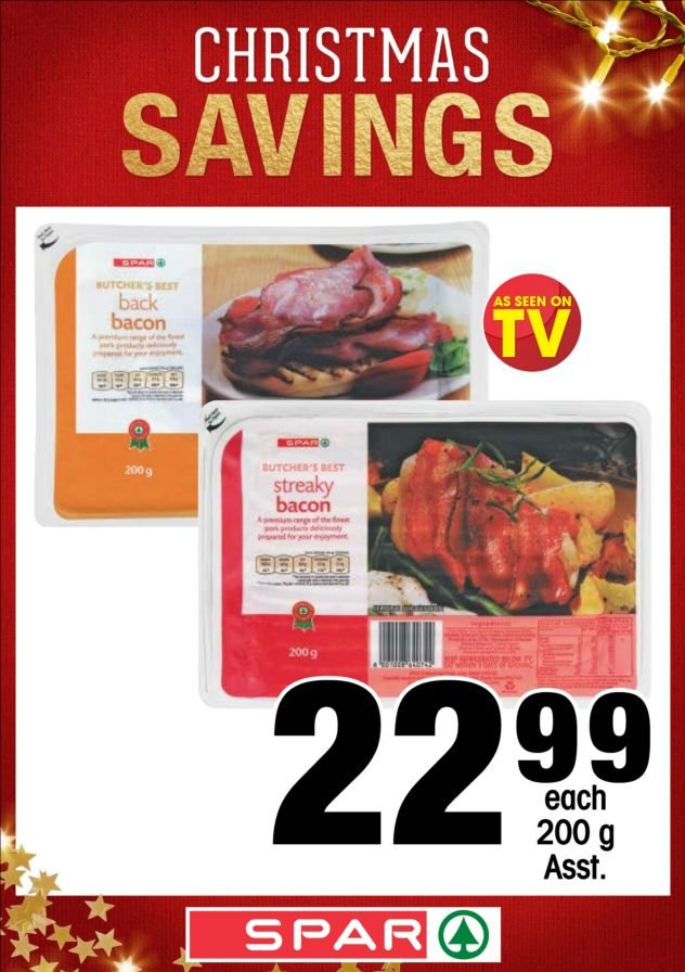 SPAR catalogue  - 12.04.2018 - 12.24.2018. Page 1.