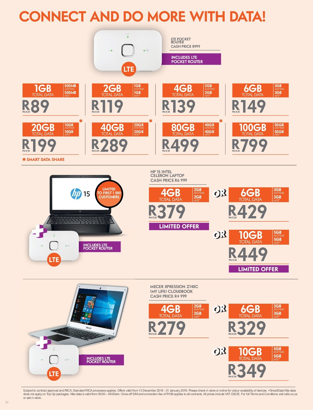 Cell C Catalogue 12 13 2018 01 31 2019 Page 52 My Catalogue