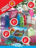 PEP Stores special - Sales products - bag, bottle, box.