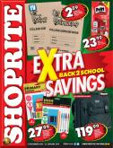 Shoprite special - 12.31.2018 - 01.27.2019 - Sales products - backpack, stick, pet.