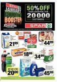 SPAR special - 01.08.2019 - 01.20.2019 - Sales products - beet, capsules, cream, milk, shelf, sugar, powder, chicken, omo.