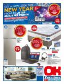 OK Furniture special - 01.08.2019 - 01.20.2019 - Sales products - accessories, backpack, bundle, freezer, furniture, led tv, mattress, mouse, fridge, shield, top, windows, hard drive, hp, intel, notebook, wireless, headset, mattress protector.