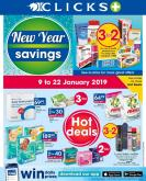 Clicks special - 01.09.2019 - 01.22.2019 - Sales products - always, centrum, google, milk, toilet, powder, pads, toilet paper, dettol, ariel,  paper.