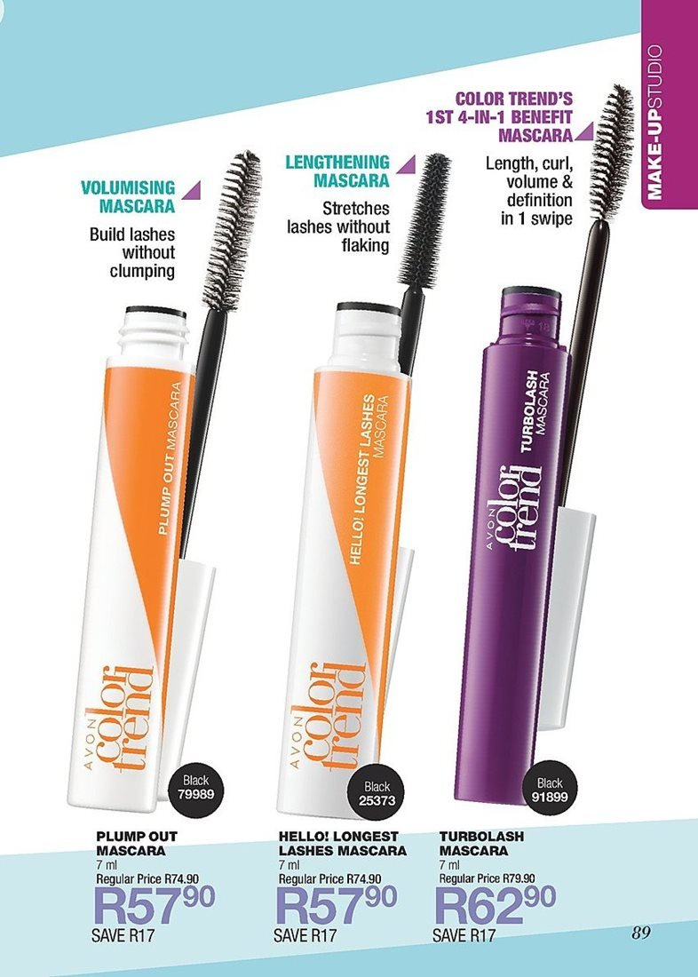 ed7cea73911 Avon special - 02.01.2019 - 02.28.2019 - Sales products - mascara.