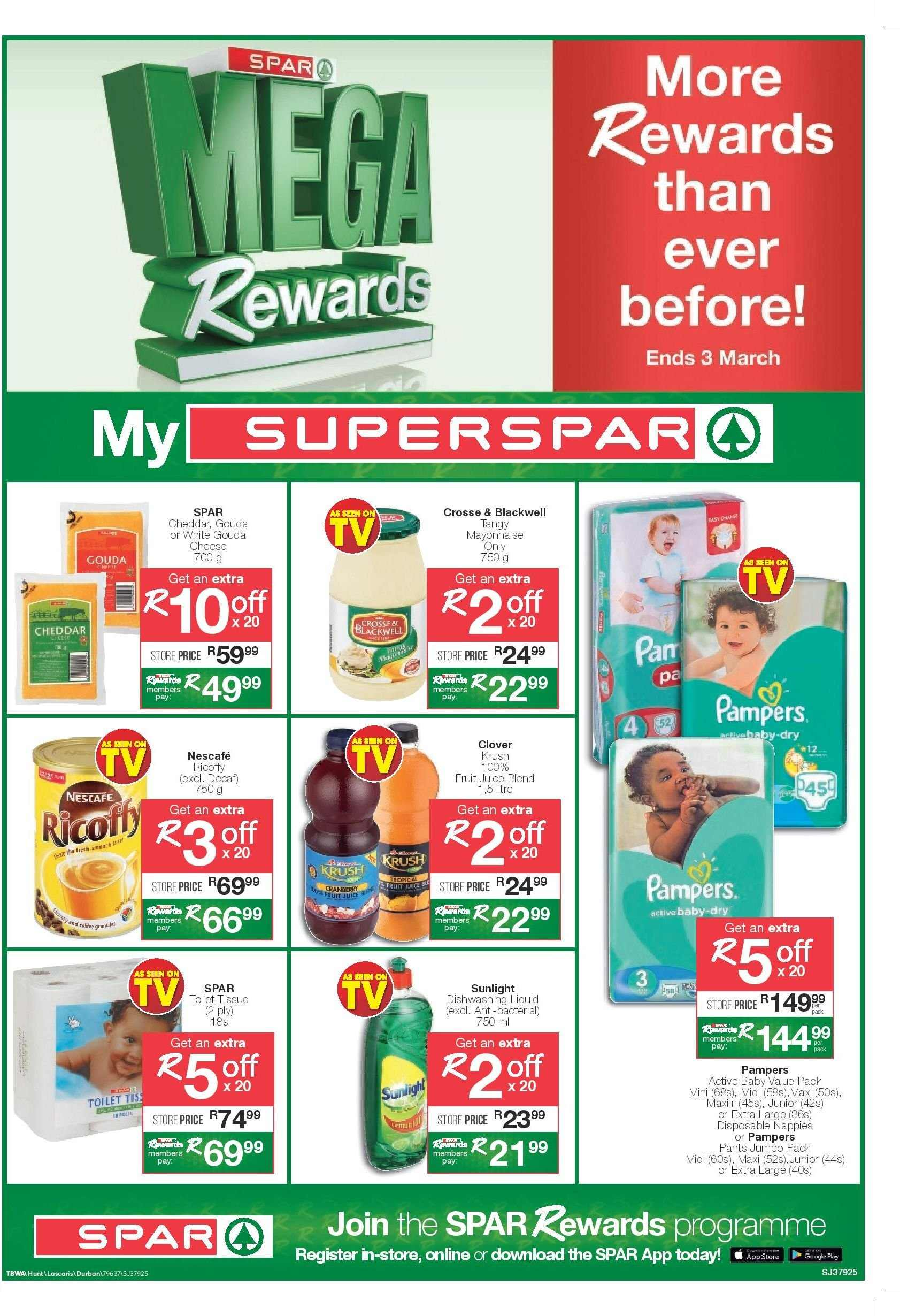 SPAR catalogue  - 02.19.2019 - 03.03.2019. Page 1.