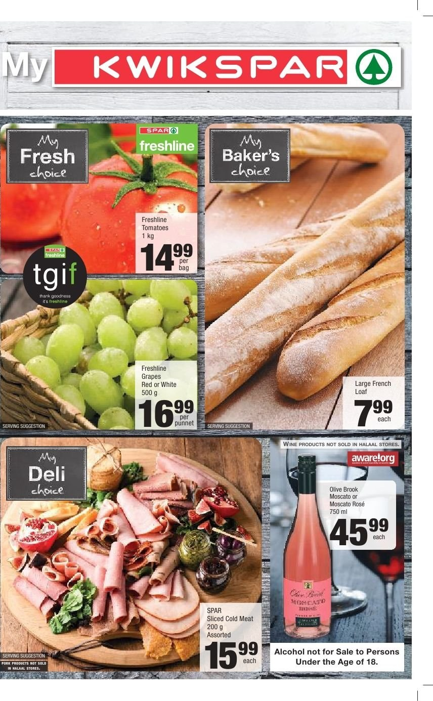 SPAR catalogue  - 03.04.2019 - 03.17.2019. Page 1.