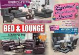 Bed & Lounge special - 04.01.2019 - 05.05.2019.