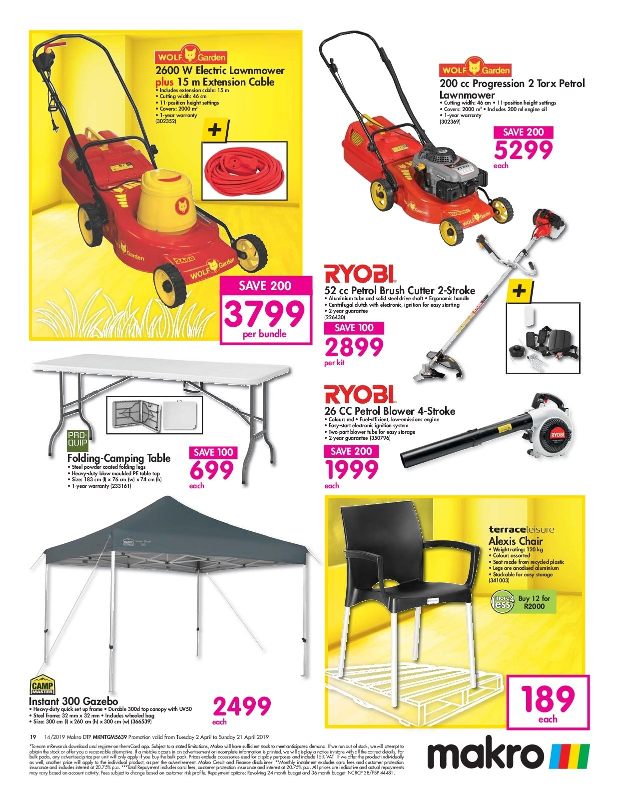 Makro catalogue 04 02 2019 - 04 21 2019 | My-catalogue co za